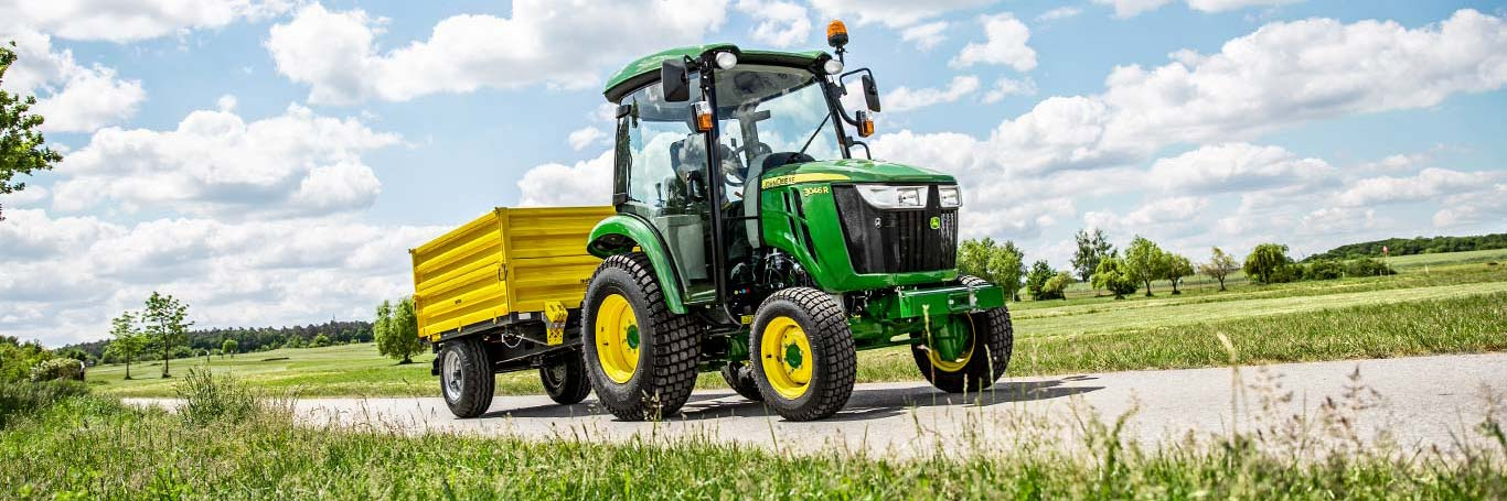 3 Series, Compact Utility Tractors