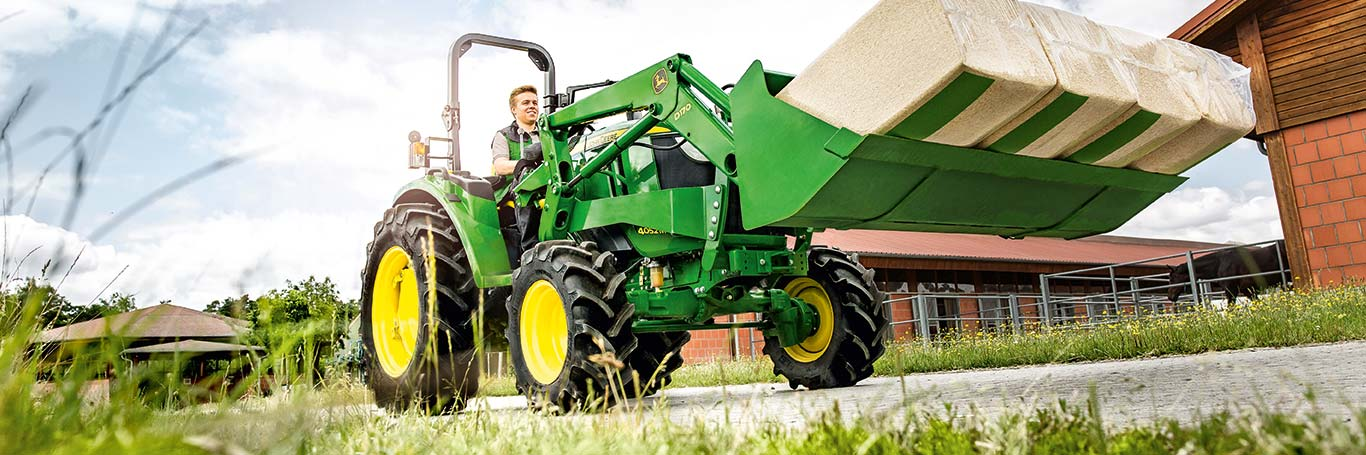 4 Series, Compact Utility Tractors